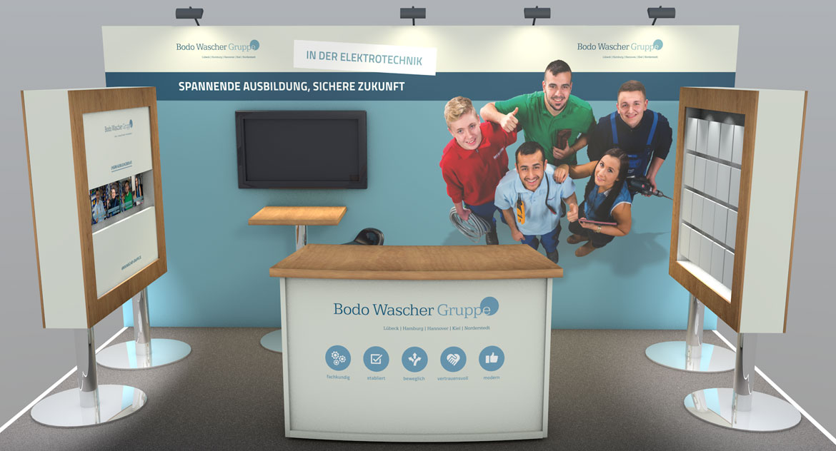 BWG Messestand Jobmesse