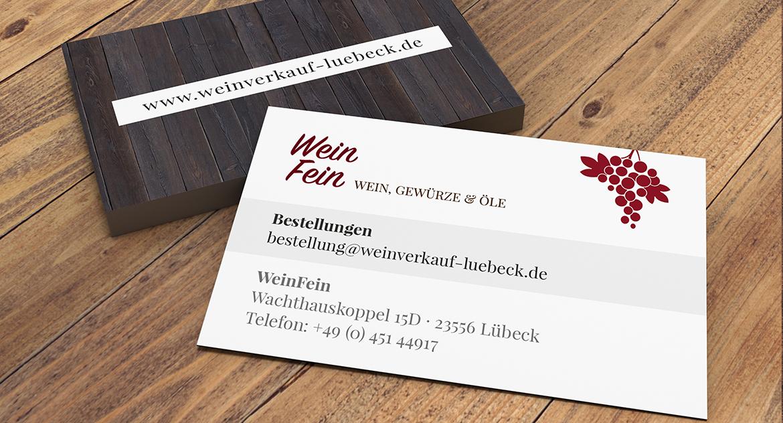 Weinfein Parrot Media Werbeagentur Lübeck